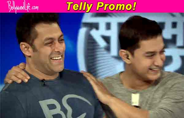 What is Salman Khan doing on Aamir Khan's Satyamev Jayate?