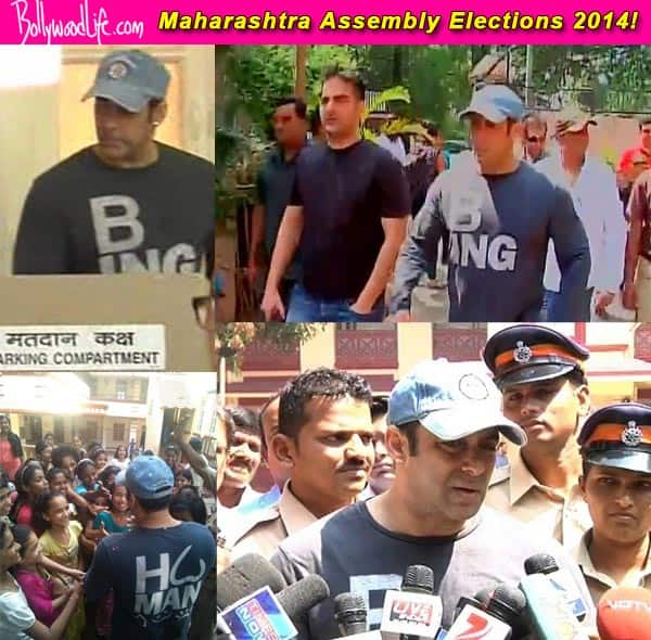 Salman Khan urges fans to participate in the Maharashtra Assembly elections – view pics!