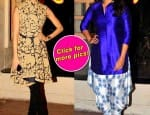 Shraddha Kapoor's WOW and Sonakshi Sinha's WTF fashion moment at Ekta Kapoor's Diwali party- View pics!