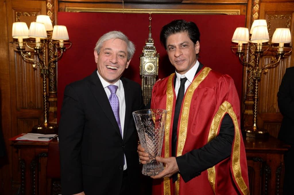 Shah Rukh Khan receives Global diversity award at London – View pics!