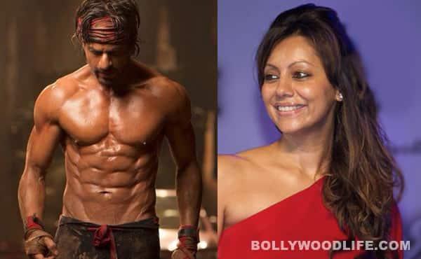 Gauri Khan finds hubby Shah Rukh Khan's eight-pack abs 'fabulous'!