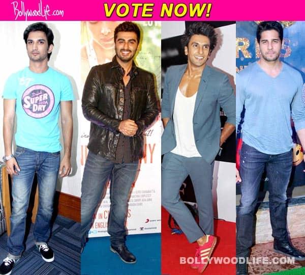 Arjun Kapoor, Ranveer Singh, Sidharth Malhotra, Sushant Singh Rajput – who should play the lead in Half Girlfriend? Vote!