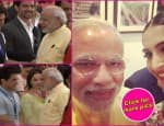 PM Narendra Modi greets Aamir Khan, Shah Rukh Khan; clicks a selfie with Sonam Kapoor at an inaugural event – view pics!