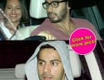 Spotted: Arjun Kapoor and Sonakshi Sinha on a movie date – view pics!