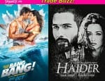 Hrithik Roshan's Bang Bang or Shahid Kapoor's Haider – which film will storm the box office this week?