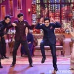 Comedy Nights with Kapil: Shah Rukh Khan, Abhishek Bachchan and Vivaan Shah dance on Deepika Padukone's song Lovely – Watch video!