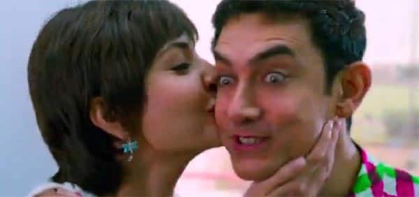 PK song Love Is A Waste Of Time: Anushka Sharma falls for alien Aamir Khan!