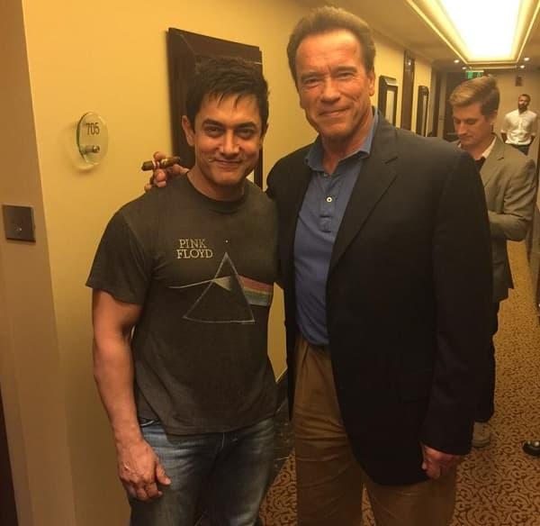 When Arnold Schwarzenegger left Aamir Khan starstruck…