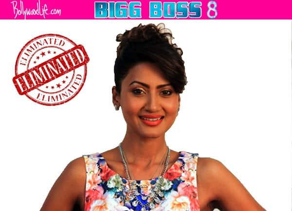 Bigg Boss 8 elimination: Nigaar Khan bids adieu to the show!