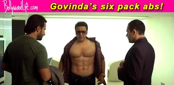 After Shah Rukh Khan's Happy New Year act, Govinda to sport six pack abs in Happy Ending!