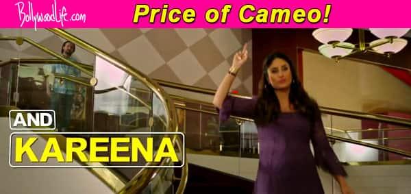 What did Kareena Kapoor Khan get for her cameo in Saif Ali Khan's Happy Ending?