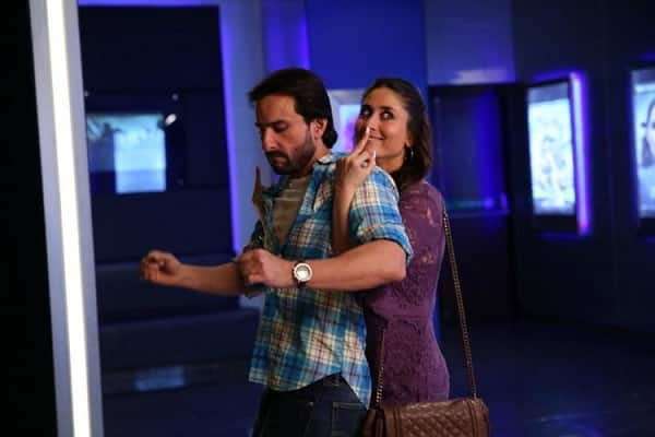 Kareena Kapoor Khan plays Saif Ali Khan's abusive ex-girlfriend in Happy Ending!