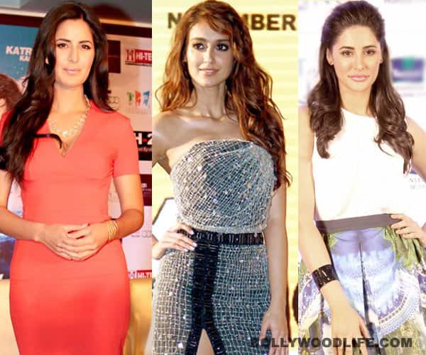 Katrina Kaif, Ileana D'Cruz, Nargis Fakhri- actresses whose Hindi is weak!