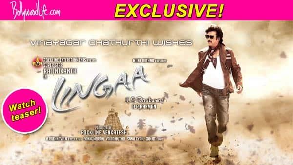 Lingaa teaser: Rajinikanth, Sonakshi Sinha, Anushka Shetty look super stylish in this action comedyflick!