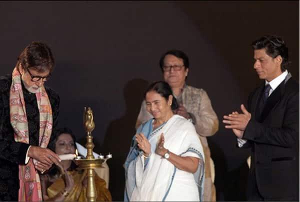 Amitabh Bachchan and Shah Rukh Khan inaugurate India's first ever wax museum in Kolkata