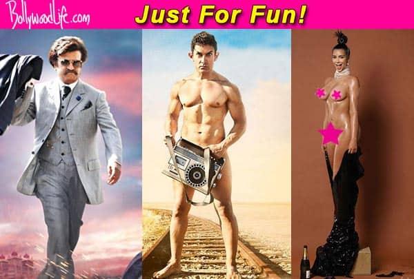 Lingaa's Rajinikanth went naked in public before Aamir Khan and Kim Kardashian
