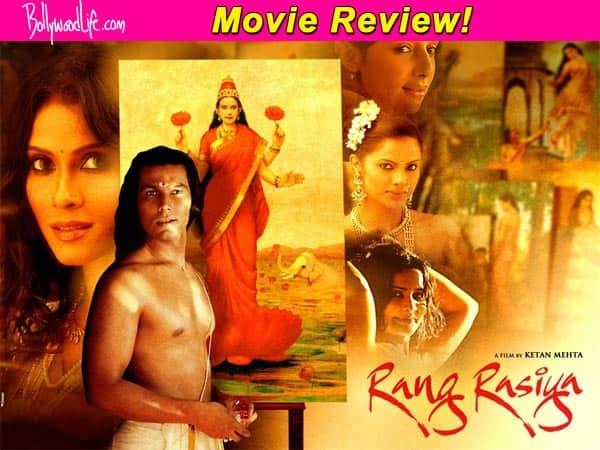 Rang Rasiya movie review: Ketan Mehta and Randeep Hooda paint Raja Ravi Varma's enigmatic life in brightest colours!