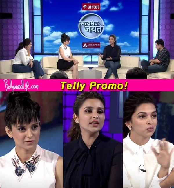 Aamir Khan wants to know what turns on Deepika Padukone, Parineeti Chopra and Kangana Ranaut- Watch video!