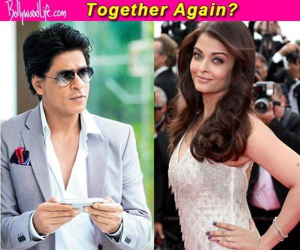 Aishwarya Rai Bachchan hints at teaming up with Shah Rukh Khan and Rohit Shetty?