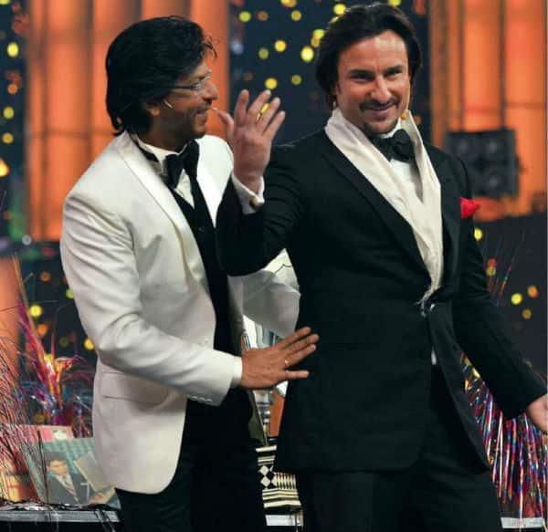 I look up to Shah Rukh Khan, says Saif Ali Khan!