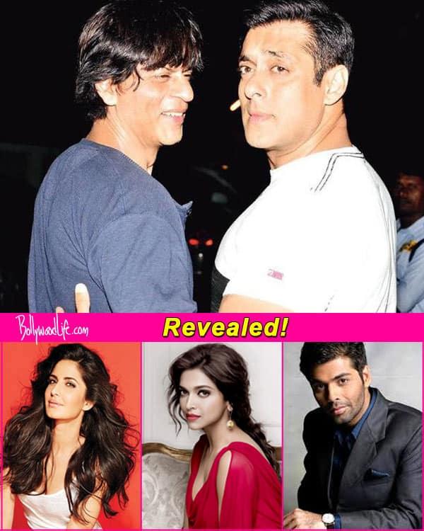 Here's why Katrina Kaif, Deepika Paduone and Karan Johar will benefit from the Shah Rukh Khan-Salman Khan patch up!