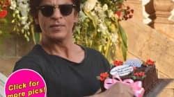 Shah Rukh Khan, birthday, Shah Rukh Khan birthday, Mannat Pics