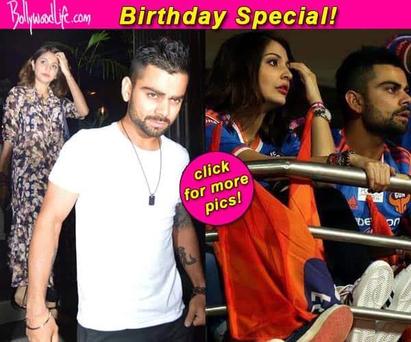 Want to see Virat Kohli and Anushka Sharma's budding romance? View pics!