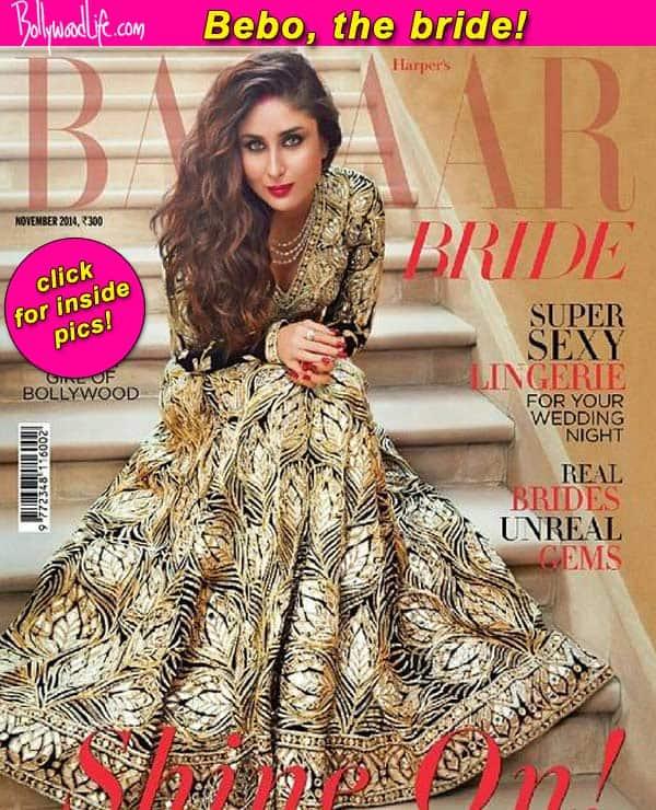 After sizzling in regal western wear, Kareena Kapoor Khan poses as a modern bride!