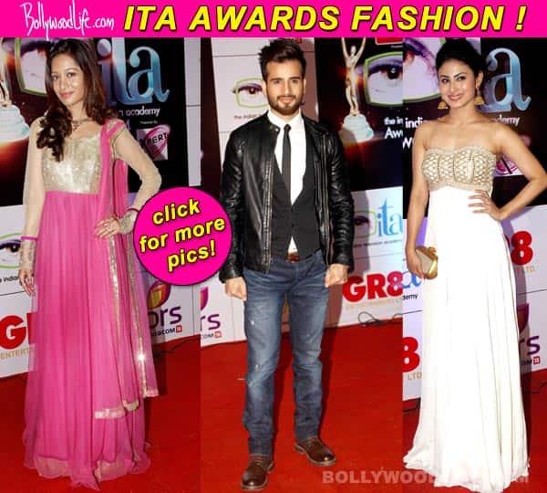 Karan Tacker, Preetika Rao, Mouni Roy: The best and worst dressed at the Indian Television Awards 2014
