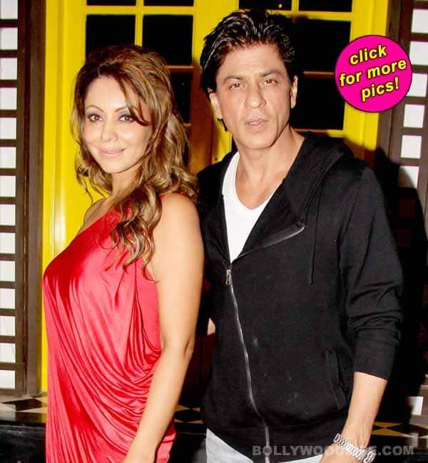 Gauri Khan hosts a champagne evening, husband Shah Rukh Khan makes a guest appearance!