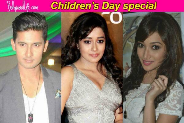 Television actors Ravi Dubey, Tina Dutta and Nalini Negi reminisce Children's Day!