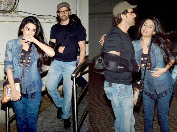 Revealed: The mystery girl with Hrithik Roshan!