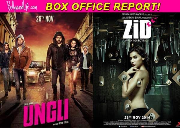 Box office report: Emraan Hashmi starrer Ungli and Mannara's debut film Zid off to a sluggish start!
