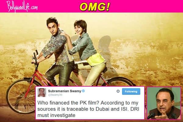 Aamir Khan and Anushka Sharma's PK financed by the ISI, claims Subramanian Swami