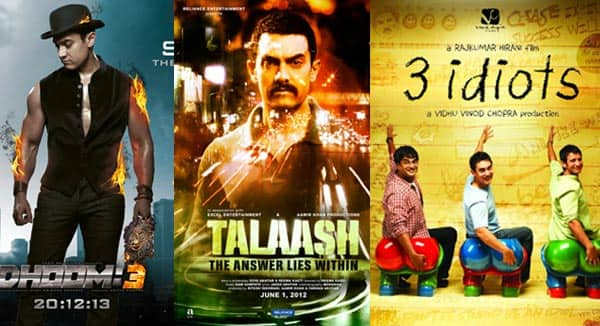 Aamir Khan's 3 biggest openers: Dhoom:3, Talaash and 3 Idiots!
