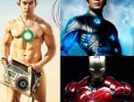 In PK, is Aamir Khan trying to copy Shah Rukh Khan from RA One and Robert Downey Jr fromIronman?