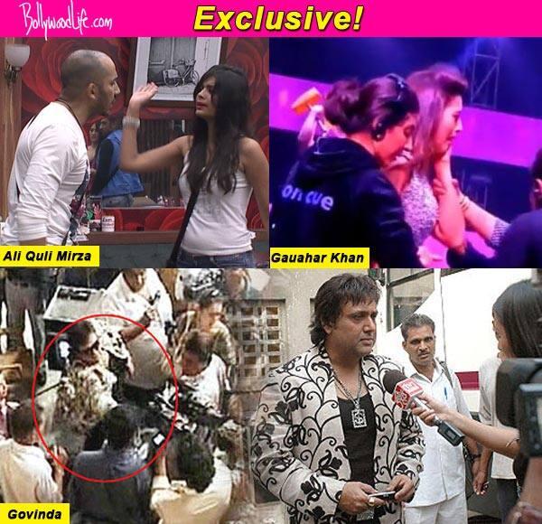 Gauahar Khan, Govinda, Ali Quli Mirza- celebrities and their slap gate controversies-watchvideos!