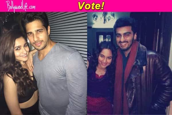 New Romantics: Alia Bhatt-Sidharth Malhotra or Sonakshi Sinha-Arjun Kapoor, who's your favourite new couple?
