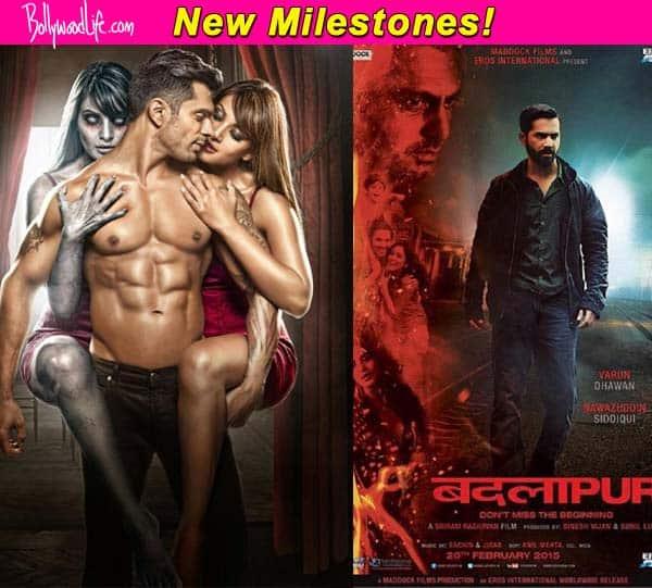 Bipasha Basu's Alone trailer and Varun Dhawan's Badlapur trailer set landmarks on YouTube!