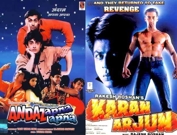 Salman Khan-Shah Rukh Khan in Karan Arjun 2 or Aamir Khan-Salman in Andaaz Apna Apna 2- what would you like to see next?