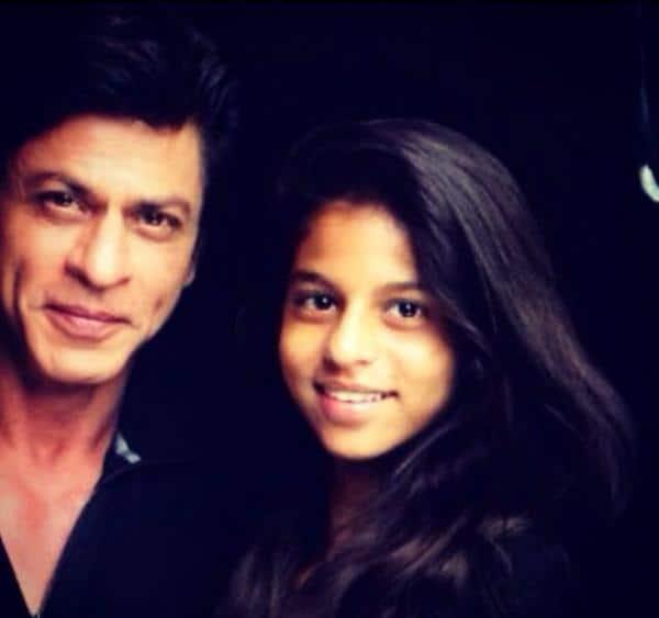 Shah Rukh Khan's daughter Suhana gives him an acting lesson!