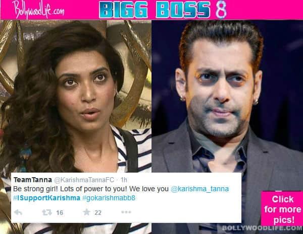 Bigg Boss 8: Viewers go against Salman Khan and support Karishma Tanna!