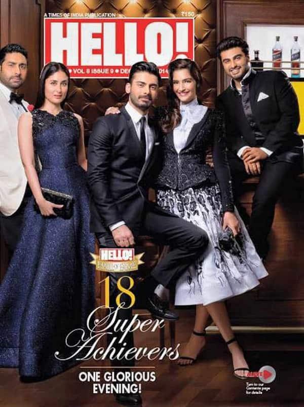 Arjun Kapoor, Kareena Kapoor Khan, Fawad Khan: Stars galore on a magazine cover!