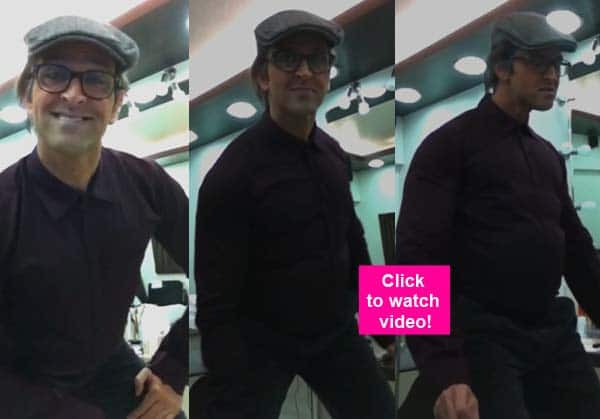 When Hrithik Roshan did a Shammi Kapoor on the sets of Krrish- Watch video!