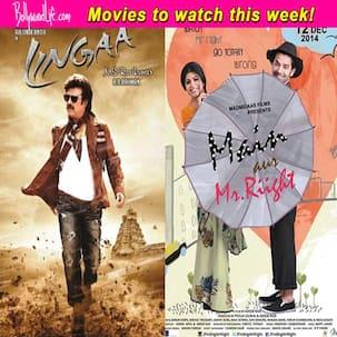 Movies to watch this week: Main Aur Mr.Riight and Lingaa