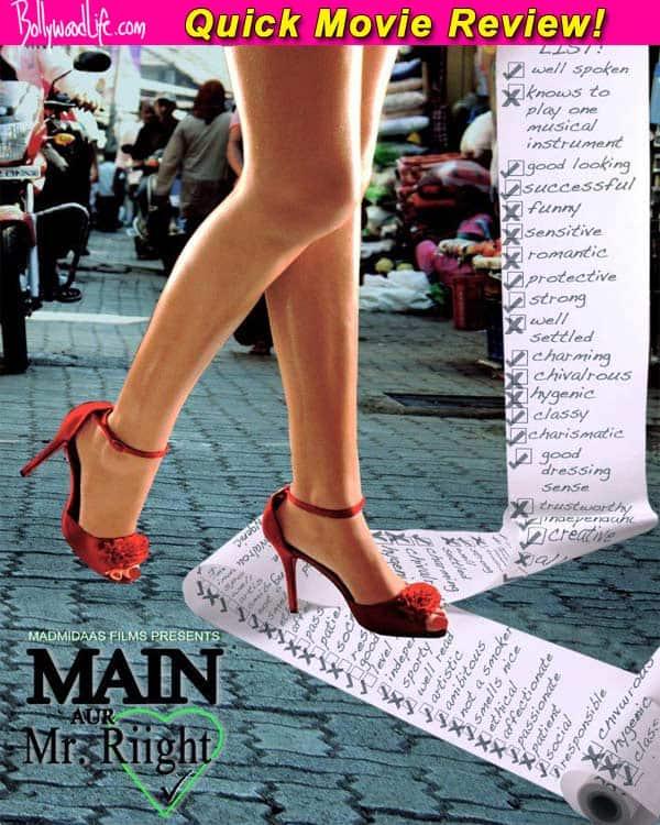 Main Aur Mr Riight quick movie review: Barun Sobti is the only saving grace!