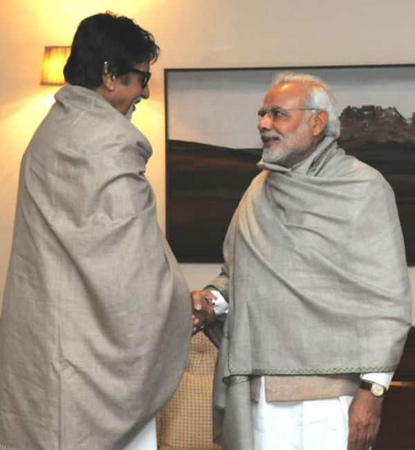 When Amitabh Bachchan met Narendra Modi…