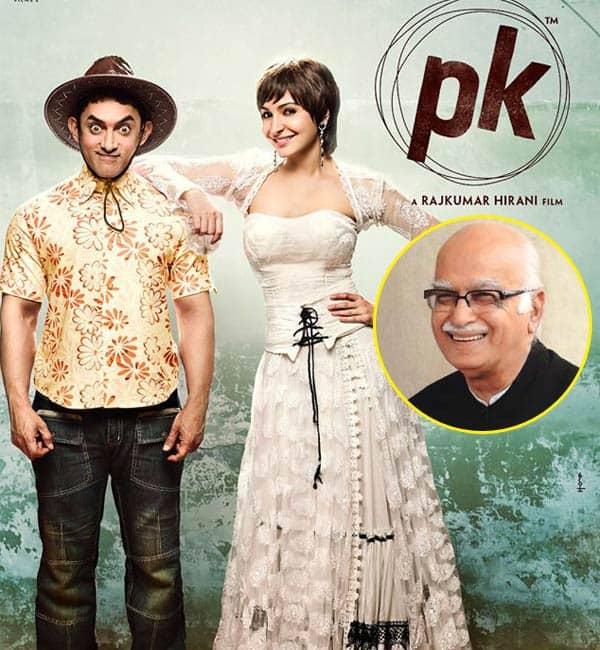 Aamir Khan's PK is a wonderful and courageous film, says L K Advani