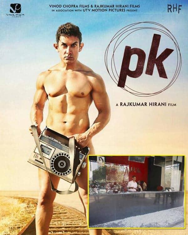 Violent protests held against Aamir Khan's PK in Gujarat