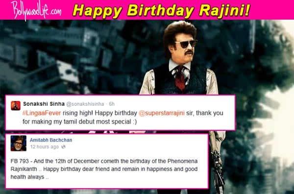 Narendra Modi, Pawan Kalyan, Sonakshi Sinha wish Rajinikanth on his birthday!
